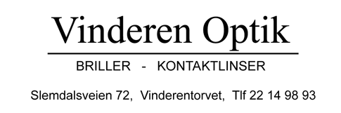 Logo for Vinderen Optik